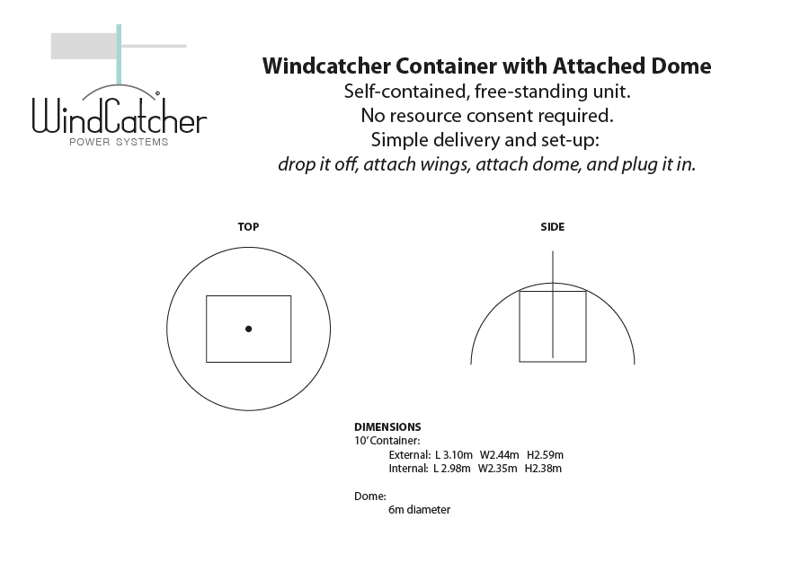 Windcatcher-Container-with-Attached-Dome